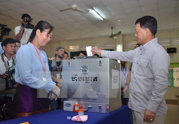 Cambodge : lancement des elections locales hinh anh 1