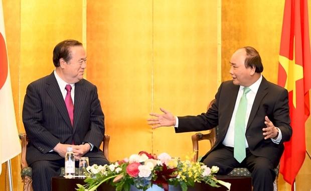 Booster la cooperation economique Vietnam-Japon hinh anh 1