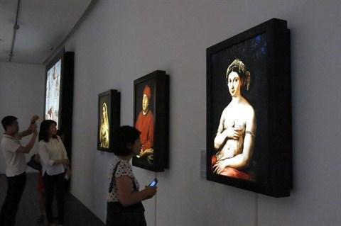 Exposition de 34 œuvres numerisees de Raphael hinh anh 1