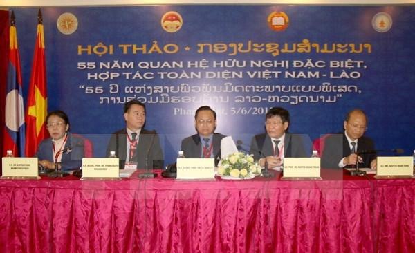 Promouvoir les relations de solidarite speciale et de cooperation integrale Vietnam-Laos hinh anh 1