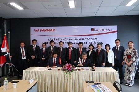Signature d'un memorandum de cooperation Agribank - Yanmar hinh anh 1