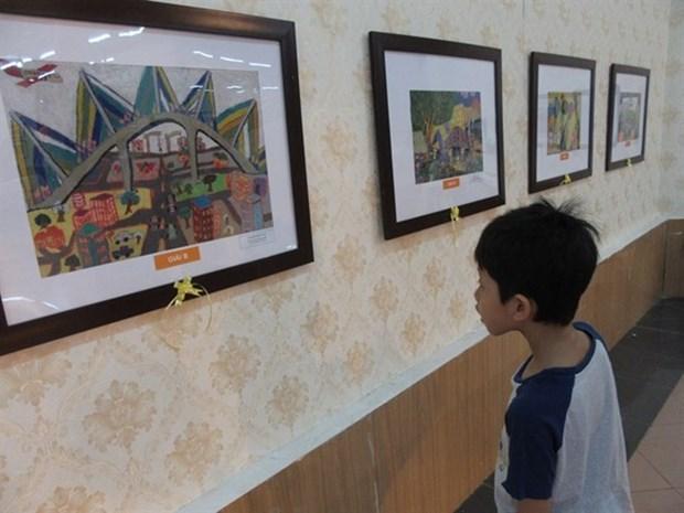 L'art des enfants s'expose dans la capitale hinh anh 1