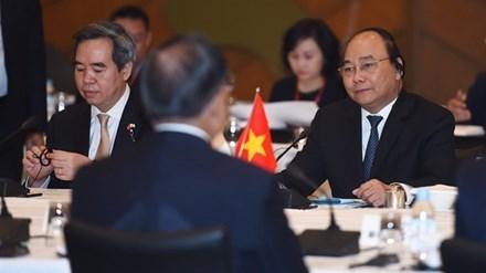 Poursuite des activites du PM Nguyen Xuan Phuc au Japon hinh anh 1