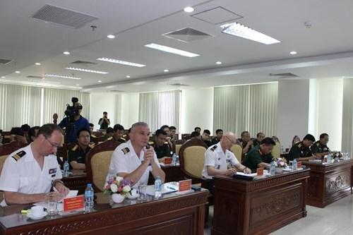 Vietnam-France : echange d'experiences sur les operations de paix de l'ONU hinh anh 1