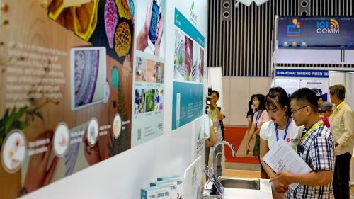 Exposition internationale sur les TI, les telecommunications et l'audio-visuel hinh anh 1