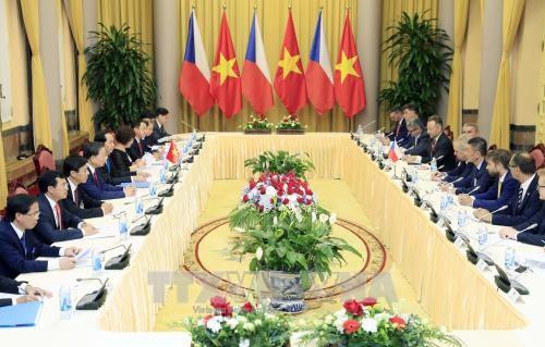 Porter les relations Vietnam-R. tcheque a une nouvelle hauteur hinh anh 1
