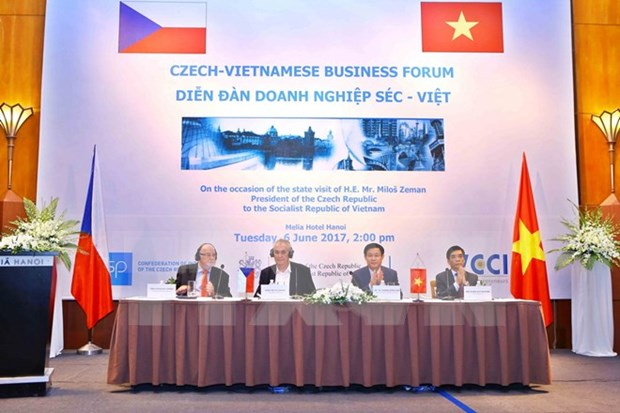 Forum d'affaires Vietnam-Republique tcheque a Hanoi hinh anh 1