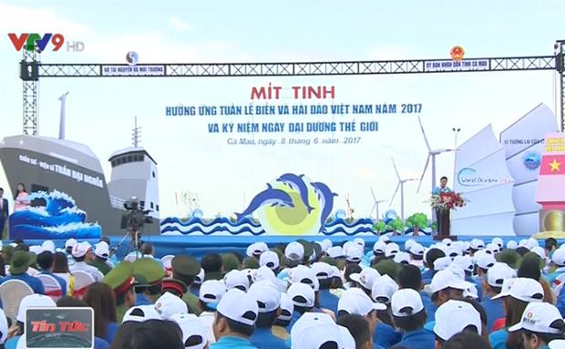 Meeting en echo a la Semaine sur la mer et les iles du Vietnam 2017 a Ca Mau hinh anh 1