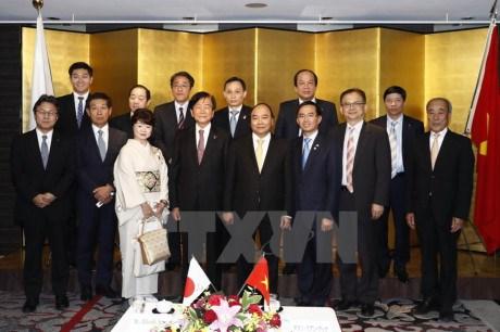 Le PM Nguyen Xuan Phuc termine sa visite officielle au Japon hinh anh 1