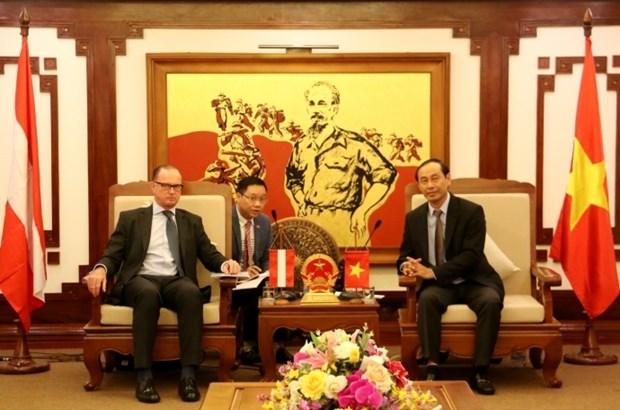 Vietnam - Autriche : Renforcement de la cooperation dans les transports hinh anh 1