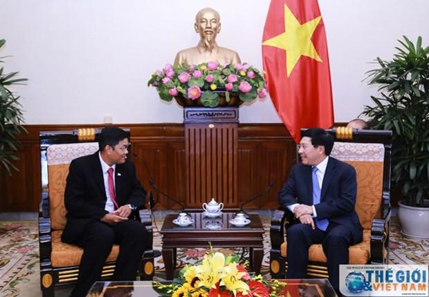 Approfondir les relations Vietnam-Myanmar hinh anh 1