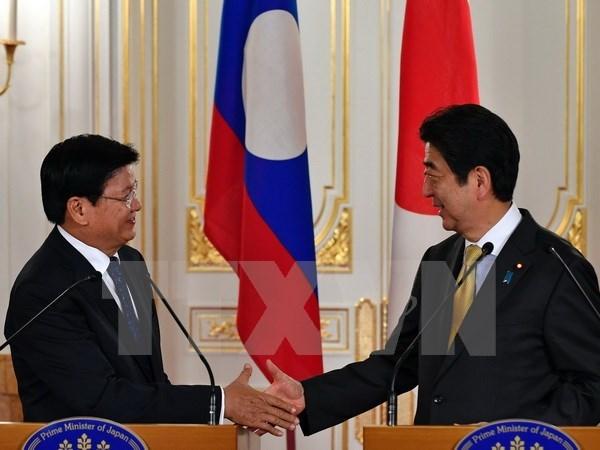 Japon et Laos discutent du plan de developpement commun hinh anh 1