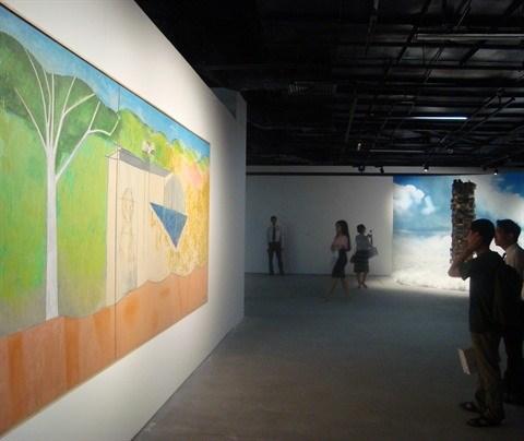 Inauguration du Centre d'art contemporain Vincom a Hanoi hinh anh 2