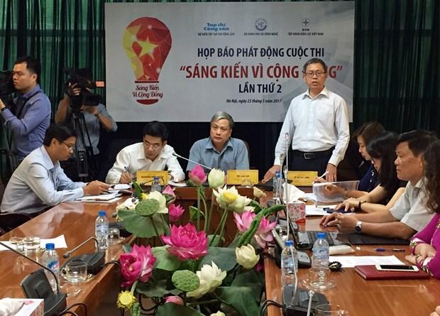 Lancement d'un concours d'initiatives communautaires 2017 hinh anh 1