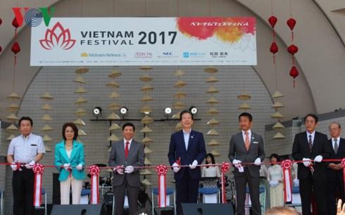 Le Festival du Vietnam 2017 commence au Japon hinh anh 1