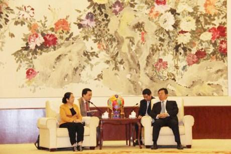 Ho Chi Minh-Ville renforce sa cooperation avec des localites chinoises hinh anh 1