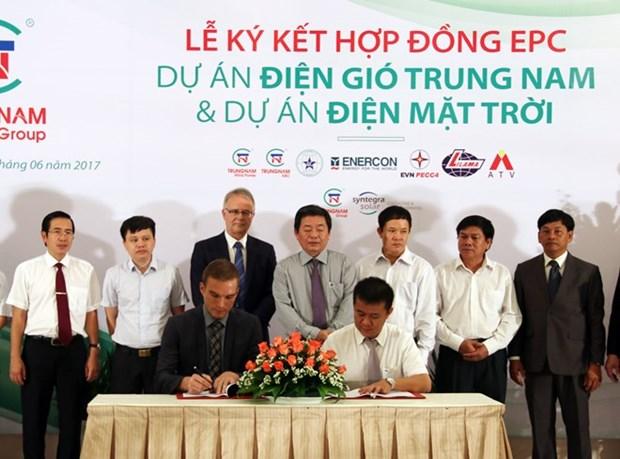 Cooperation pour le developpement du photovoltaique et de l'eolien a Ninh Thuan hinh anh 1