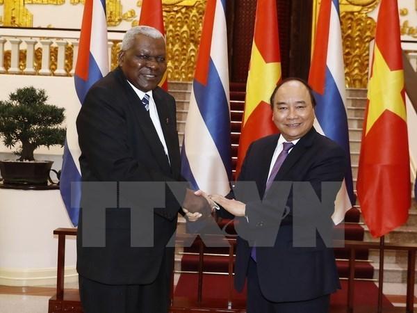 Le Premier ministre soutient une cooperation Vietnam-Cuba renforcee hinh anh 1