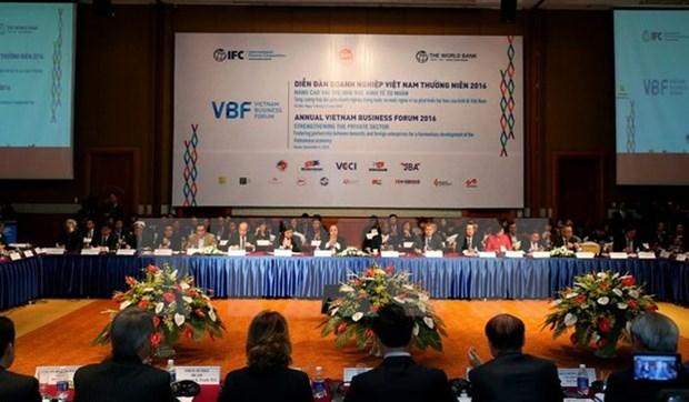 Prochainement le Forum d'affaires du Vietnam de mi-mandat 2017 hinh anh 1