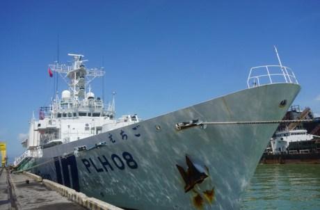 Un navire de la Garde cotiere du Japon en visite au Vietnam hinh anh 1