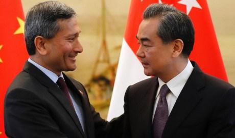 Singapour et la Chine veulent accelerer les negociations sur le RCEP hinh anh 1