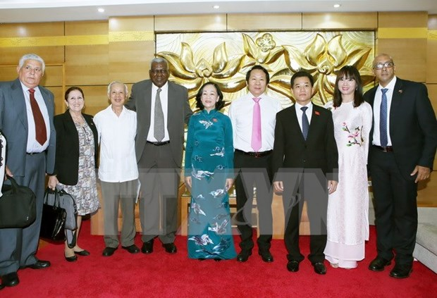 Rencontre d'amitie Vietnam-Cuba a Hanoi hinh anh 1