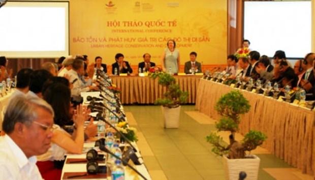 Le Vietnam partage des experiences en matiere de conservation des valeurs patrimoniales hinh anh 1