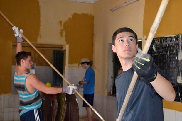 Des enseignants et eleves americains participent a une excursion au Vietnam hinh anh 1