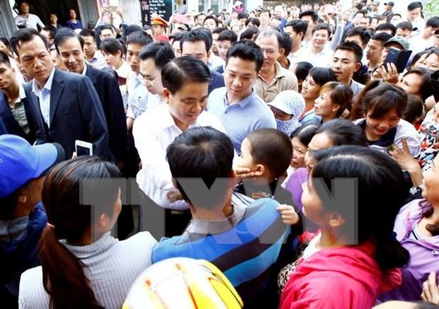 Hanoi : ouverture d'instruction sur l'arrestation illegale de personnes a Dong Tam hinh anh 1