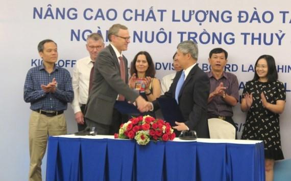 La Norvege aide le Vietnam dans la formation en aquaculture hinh anh 1