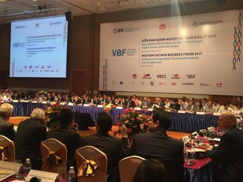 Forum d'affaires du Vietnam de mi-mandat 2017 hinh anh 1