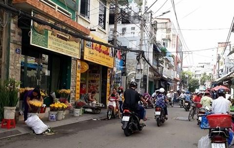 Ho Chi Minh-Ville : plus de 7.000 infractions a l'occupation des trottoirs sanctionnees hinh anh 2