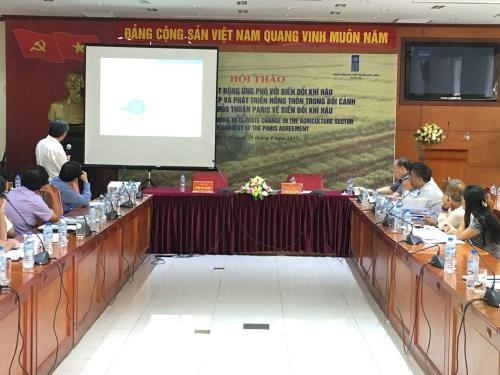 Une croissance verte dans l'agriculture pour reduire les emissions de gaz a effet de serre hinh anh 1