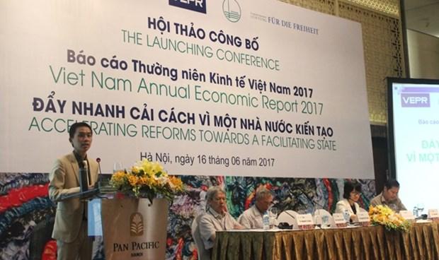 Publication d'un rapport sur l'economie du Vietnam en 2017 hinh anh 1