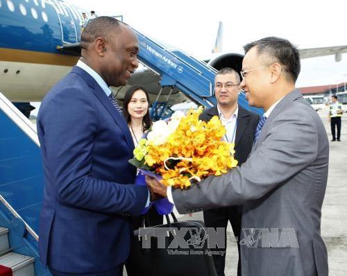 Le president du Senat haitien entame sa visite officielle au Vietnam hinh anh 1