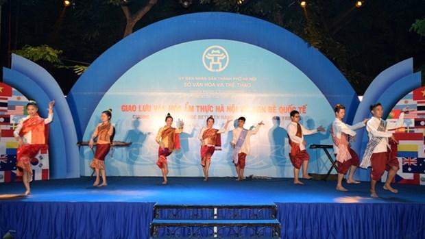 Hanoi: echange gastronomique avec les amis etrangers hinh anh 1