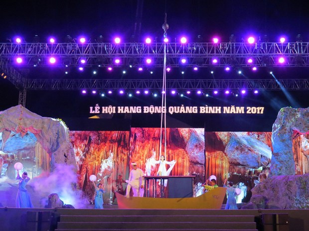 Festival des grottes de Quang Binh 2017 hinh anh 1