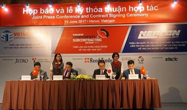 Hanoi donne rendez-vous en septembre pour l'exposition Nepcon Vietnam 2017 hinh anh 1