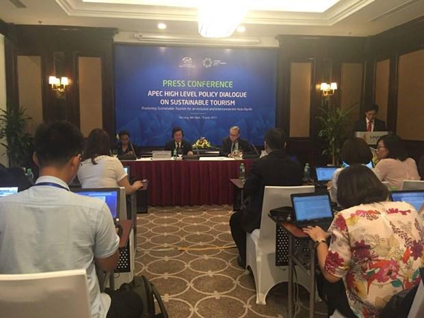 APEC 2017: adoption d'une declaration sur le tourisme durable hinh anh 1