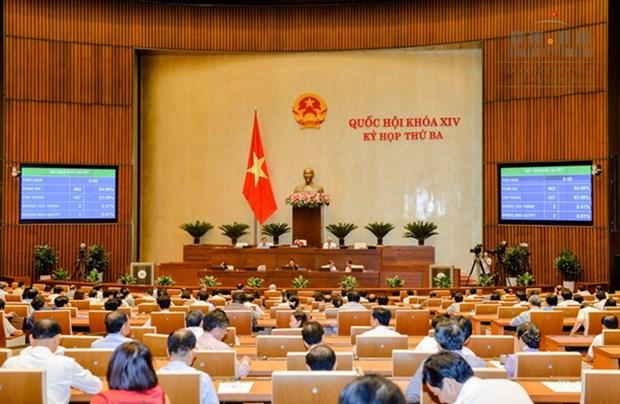 Cloture de la 3e session de la 14e legislature de l'Assemblee nationale hinh anh 1