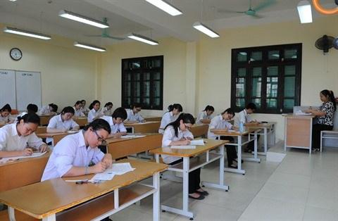 Tout est pret pour l'examen national de fin d'etudes secondaires hinh anh 1