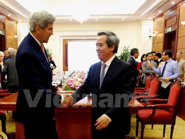 Vietnam et Etats-Unis discutent de developpement des energies renouvelables hinh anh 1