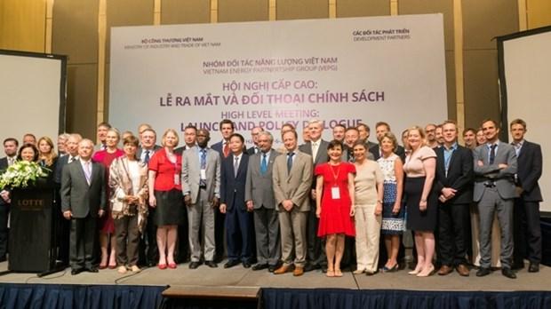 Creation d'un groupe des partenaires d'energie du Vietnam hinh anh 1