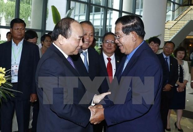 Vietnam et Cambodge discutent des mesures de promotion de la cooperation bilaterale hinh anh 1