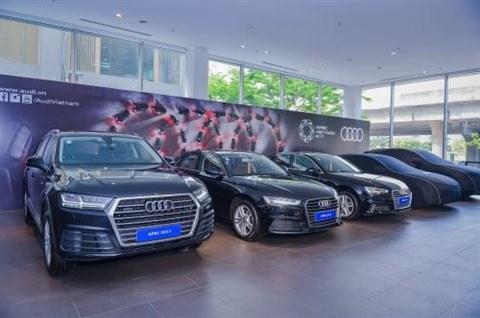 Audi lance des services mobiles pour l'APEC 2017 hinh anh 1