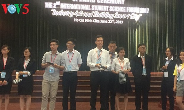 Forum scientifique international des jeunes a Ho Chi Minh-Ville hinh anh 1