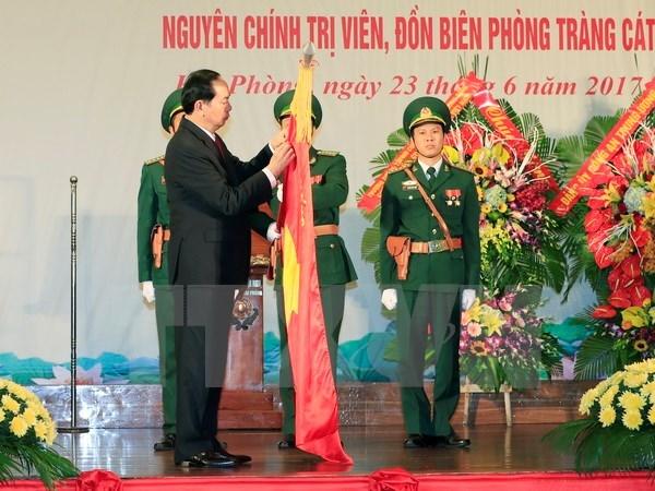 La Garde-frontiere de Hai Phong a l'honneur hinh anh 1