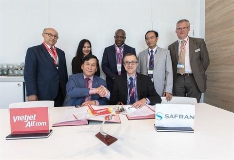 Vietjet Air et Safran signent un contrat de service SFCO2 hinh anh 1