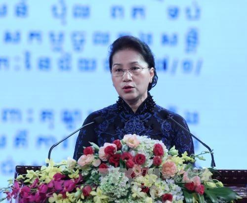Le Vietnam et le Cambodge celebrent les 50 ans de leurs relations diplomatiques hinh anh 1
