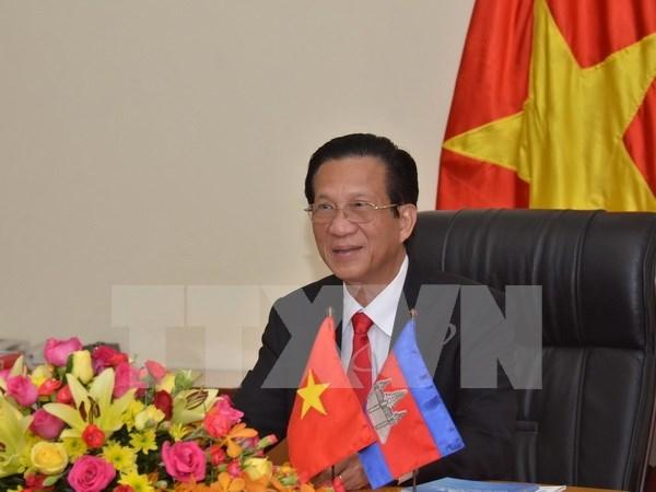 L'ambassadeur du Vietnam au Cambodge affirme les bonnes relations politiques bilaterales hinh anh 1